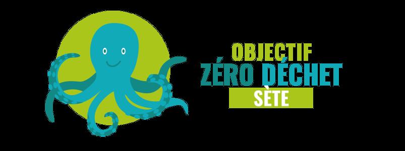 logo Objectif Zéro Déchet Sète